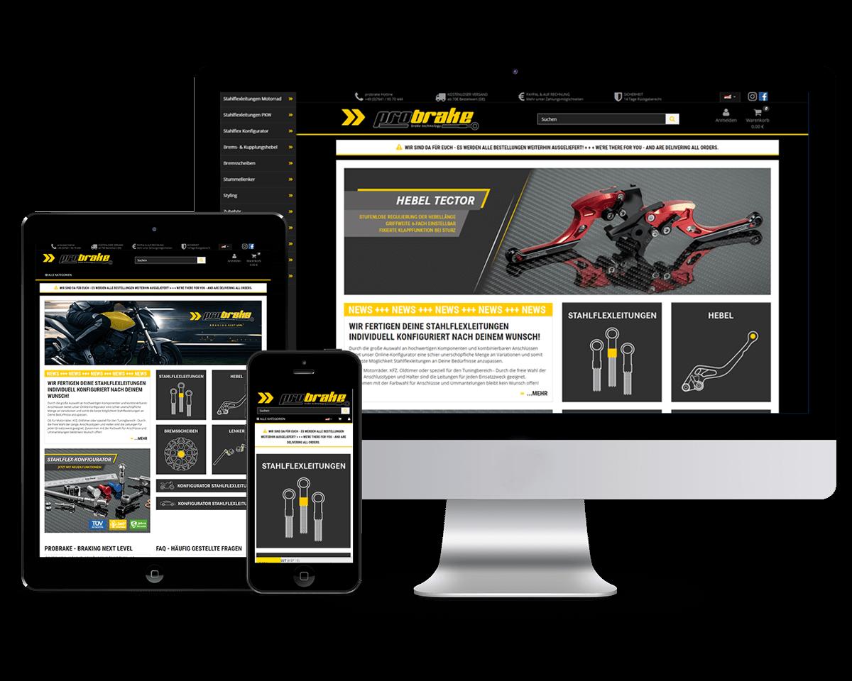 probrake GmbH - relaunch